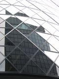Reflexão do arranha-céus Fotografia de Stock