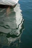 Reflexão do barco Fotografia de Stock Royalty Free