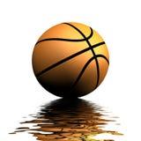Reflexão do basquetebol ilustração stock