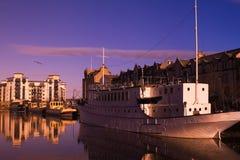 Reflexão do beira-rio de Leith Foto de Stock Royalty Free