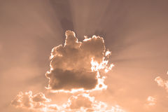 Reflexão do céu Imagem de Stock Royalty Free