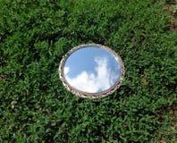 Reflexão do céu Foto de Stock