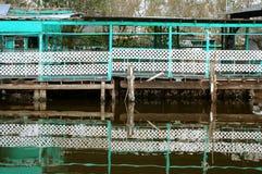 Reflexão do cais Fotos de Stock