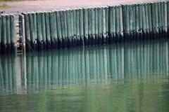 Reflexão do Dockside Imagem de Stock Royalty Free