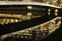 A reflexão do hotel de Fullerton Imagem de Stock