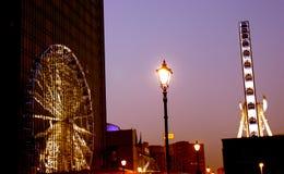 Reflexão do olho de Birmingham foto de stock