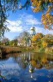 Reflexão do outono imagens de stock royalty free