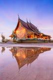 Reflexão do pavilhão Fotos de Stock Royalty Free
