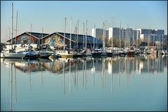 Reflexão do porto Foto de Stock