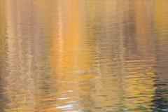 Reflexão do sol na água fotos de stock