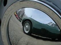Reflexão do tampão de cubo Imagens de Stock