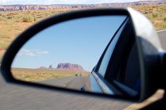 Reflexão do vale do monumento Foto de Stock