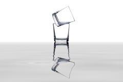 Reflexão dos vidros Fotos de Stock