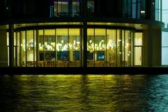 Reflexão em um rio. foto de stock royalty free