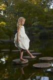 Reflexão Enchanted do jardim Foto de Stock Royalty Free