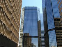 Reflexão fora do edifício imagens de stock royalty free