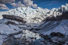 Reflexão Glacial fotografia de stock