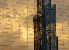 Reflexão industrial Imagens de Stock