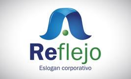 Reflexão 3 - logotipo Fotos de Stock