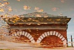 Reflexão na água Fotografia de Stock