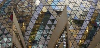 Reflexão na janela Imagens de Stock