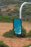 Reflexão no espelho Fotos de Stock Royalty Free