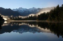 Lago Matheson Imagem de Stock Royalty Free