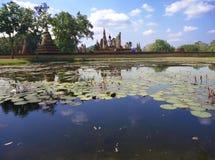 Reflexão no parque histórico Fotografia de Stock Royalty Free