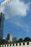 Reflexão nos edifícios Foto de Stock