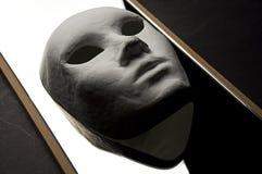 Reflexão teatral da máscara Imagens de Stock