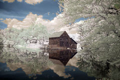 Reflexões abstratas Imagens de Stock