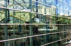 Reflexões abstratas Fotos de Stock