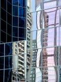 Reflexões abstratas Foto de Stock Royalty Free