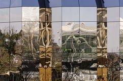 Reflexões aleatórias imagens de stock