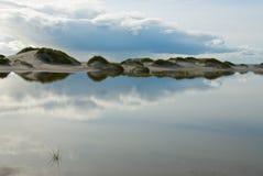 Reflexões da água Fotos de Stock Royalty Free