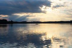 Reflexões da água Imagem de Stock