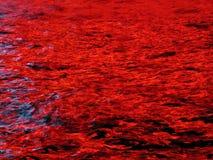 Reflexões da água Fotografia de Stock
