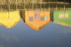 Reflexões da cabana Foto de Stock