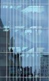 Reflexões da cidade Foto de Stock