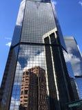 Reflexões da cidade imagens de stock royalty free