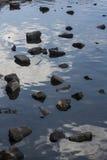 Reflexões da rocha Imagem de Stock