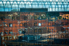 Reflexões de Aarhus, Dinamarca Foto de Stock Royalty Free