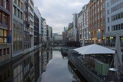 Reflexões de Hamburgo Fotografia de Stock Royalty Free