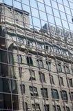 Reflexões de New York Fotografia de Stock