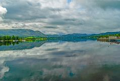 Reflexões de Ullswater setembro do lago fotos de stock