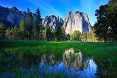 Reflexões de Yosemite Foto de Stock Royalty Free