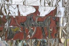 Reflexões distorcidas Fotografia de Stock Royalty Free
