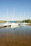 Reflexões do barco Foto de Stock Royalty Free