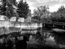 Reflexões do beira-rio Imagens de Stock Royalty Free