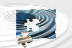 Reflexões do enigma Imagem de Stock